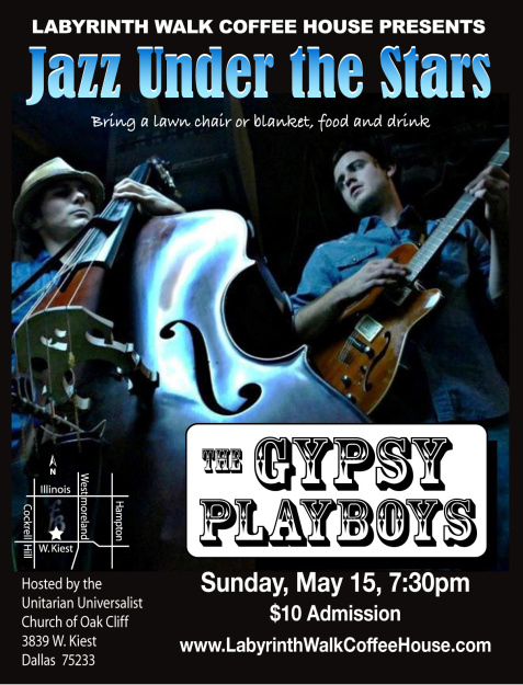 Gypsy Playboys Flyer